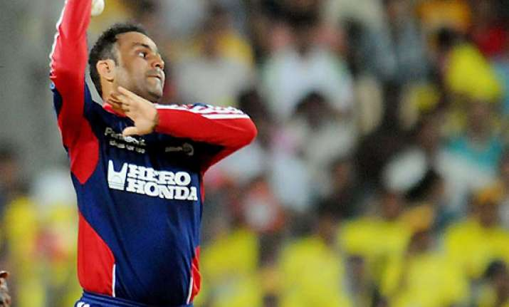 ipl 6 sehwag the bowler finally makes a comeback