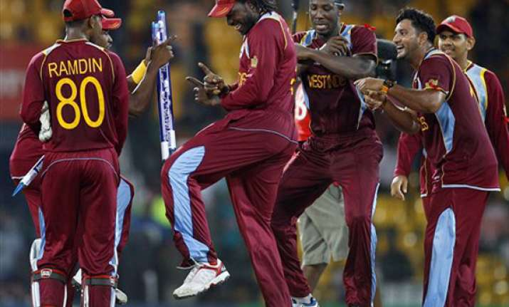 west indies celebrates gangnam style at t20