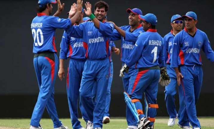 world cup 2015 afghanistan beats united arab emirates by 14