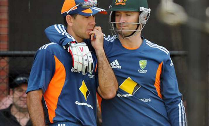 it will feel weird to play without ponting says clarke