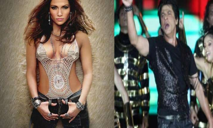 jennifer lopez angry with shahrukh khan over ipl inaugural