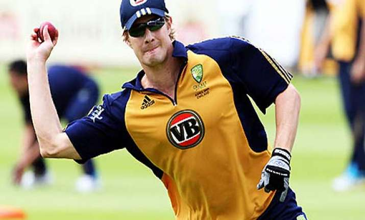 shane watson to prove fitness before second test
