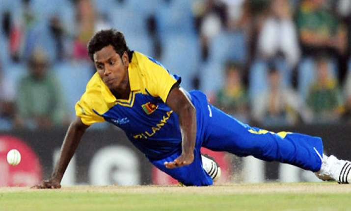 sri lanka s angelo mathews ruled out of asia cup