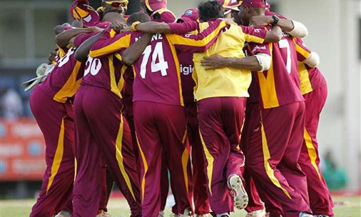 west indies beats australia by 42 runs in 4th odi