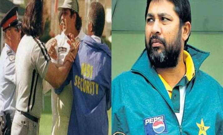 when inzamam was called potato by a spectator