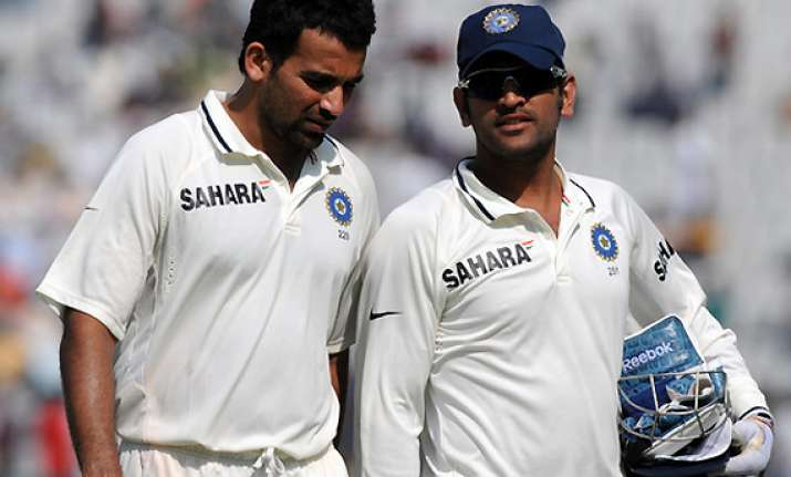 zaheer is sachin of our bowling unit dhoni