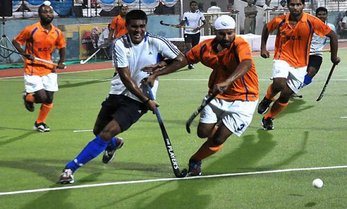 hockey indian oil air india enter final