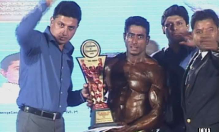 suhas khamkar wins mr india bodybuilding competition