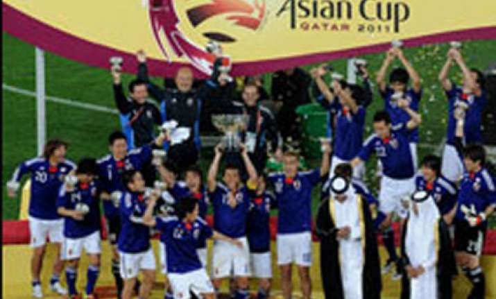 japan beat australia to lift asia cup