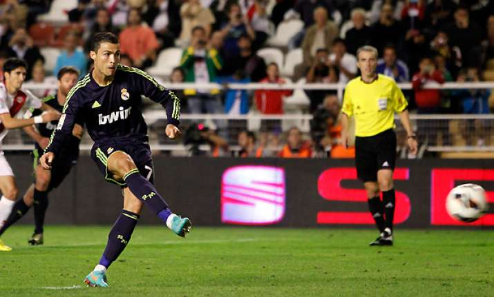 real madrid wins 2 0 at rayo vallecano in spain