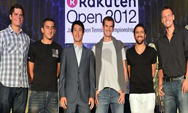 berdych tipsarevic raonic in japan open quarters
