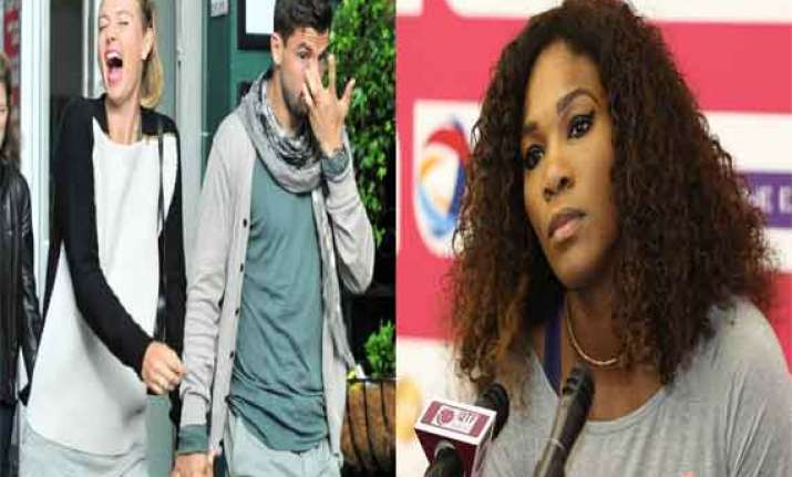 know about the famous spat between maria sharapova serena