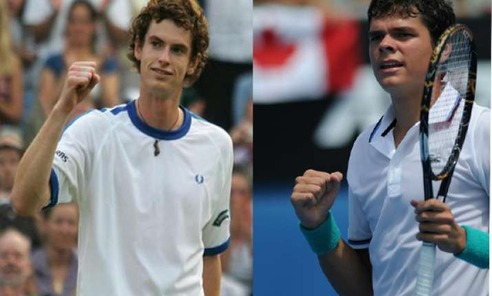 murray to meet raonic in japan open semifinal