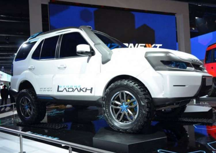 Auto expo 2014 tata motors unveils connectnext concept for Tata motors electric car