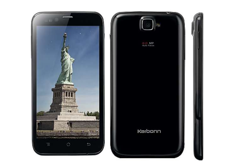 karbonn launches 5 inch titanium s5 with quad core processor at rs 11 990- India Tv