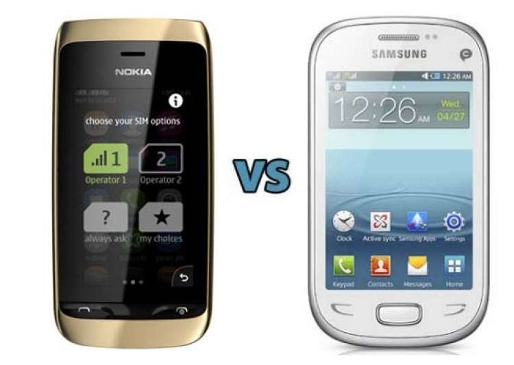 nokia asha vs samsung rex which one should you buy- India Tv