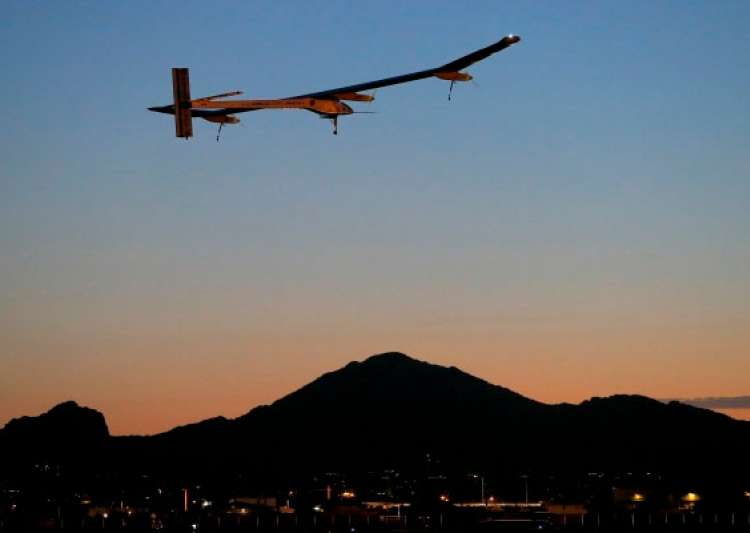 solar powered airplane to end us journey- India Tv