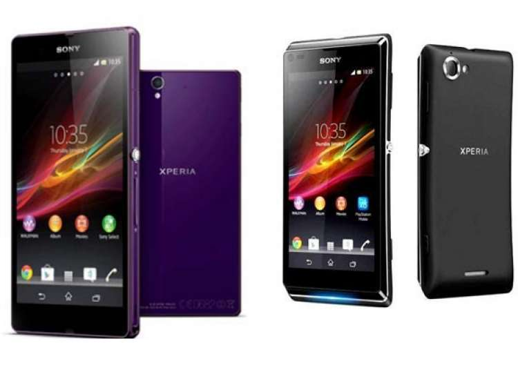 top 10 sony xperia smartphones in india. Black Bedroom Furniture Sets. Home Design Ideas