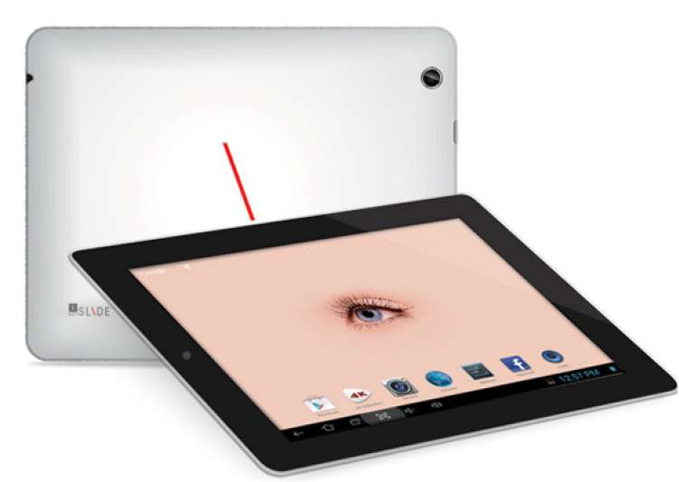 iball launches slide q9703 with super specs quad core retina display for rs 15 999- India Tv