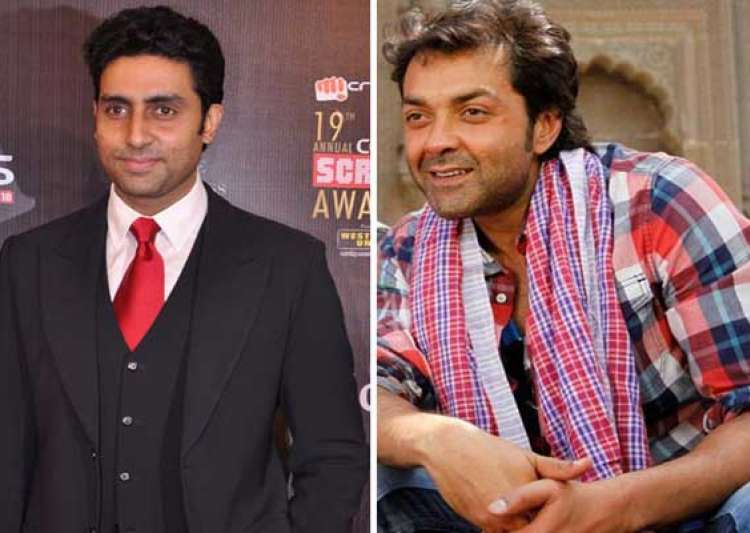 abhishek bachchan bobby deol to team up for do aur do paanch remake- India Tv