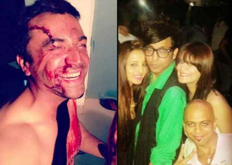 bigg boss 7 new inmates candy brar and azaz khan s unseen pics- India Tv