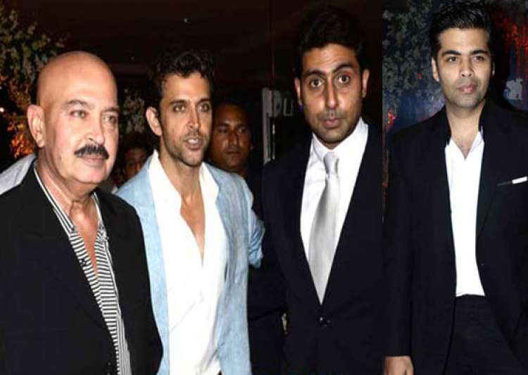 hrithik akshay abhishek glittered at big fat wedding bash- India Tv