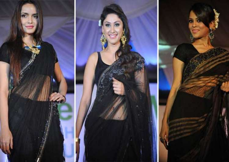 celebs glitter at walk for peace fashion show- India Tv