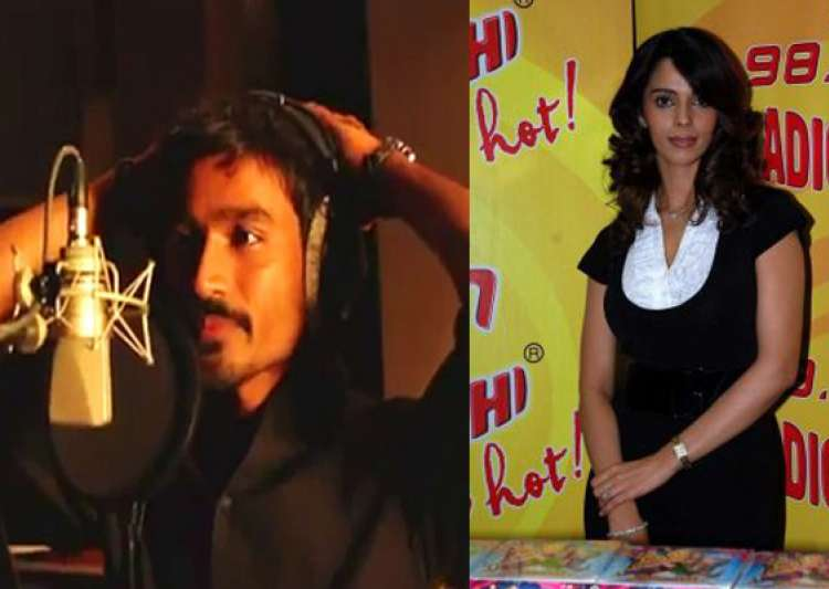 dhanush mallika named hottest vegetarian celebrities of 2011- India Tv