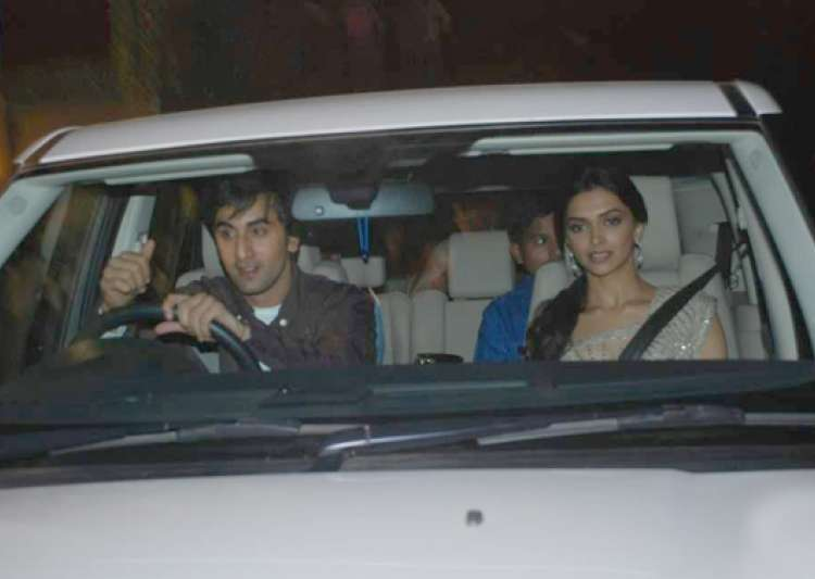 Image result for ranbir deepika old photos in car