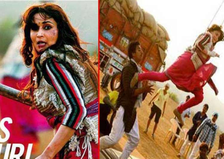 madhuri dixit s first look in gulab gang out view pics- India Tv