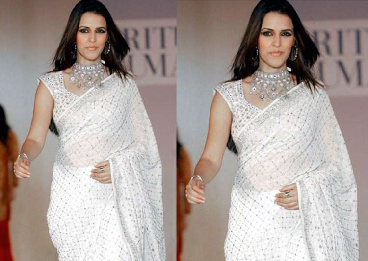 neha dhupia does a cameo in klpd wearing a saree- India Tv