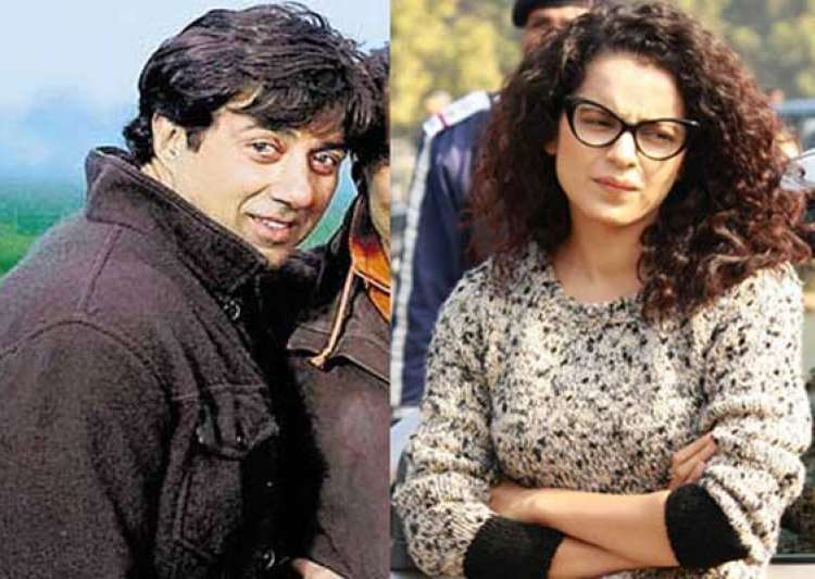 odd pair sunny deol kangana ranaut s movie hit the screens- India Tv