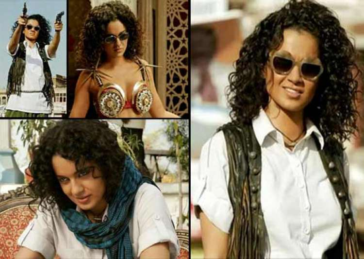 queen kangana ranaut turns lady dabangg in revolver rani watch trailer- India Tv