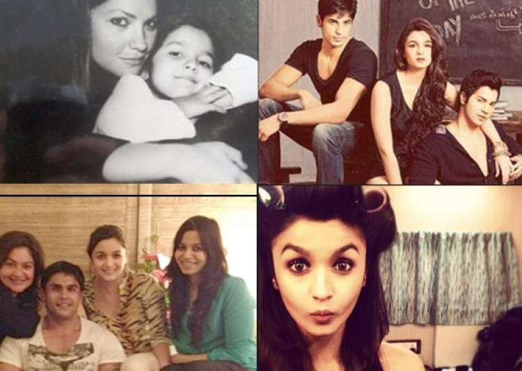 rare pictures of alia bhatt- India Tv