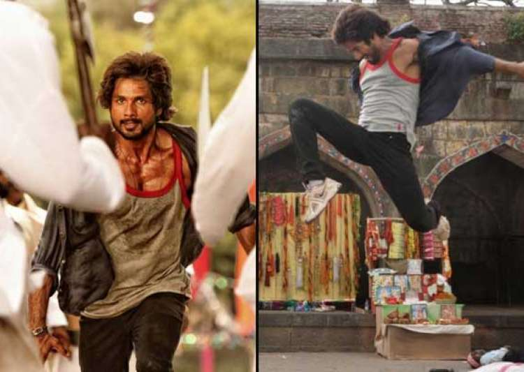 shahid kapoor s aggressive look in rambo rajkumar out view- India Tv