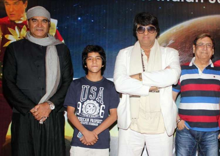 shaktimaan introduces junior shaktimaan in a tele film view pics- India Tv