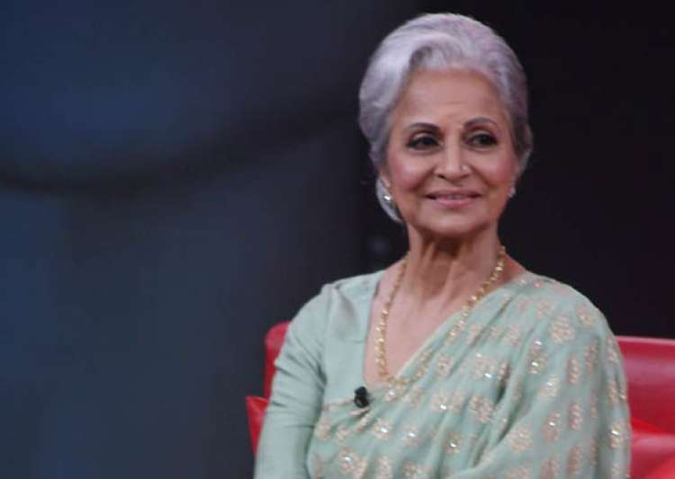 legendary actress waheeda rehman reveals conversations with- India Tv