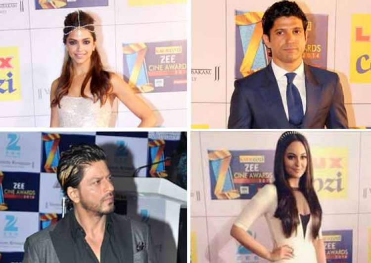 zee cine awards 2014 deepika shah rukh win top honours view