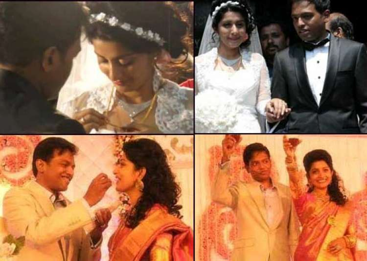 actress meera jasmine s complete wedding album- India Tv