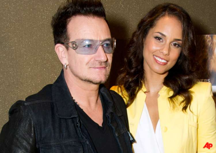 bono alicia keys has lioness energy- India Tv