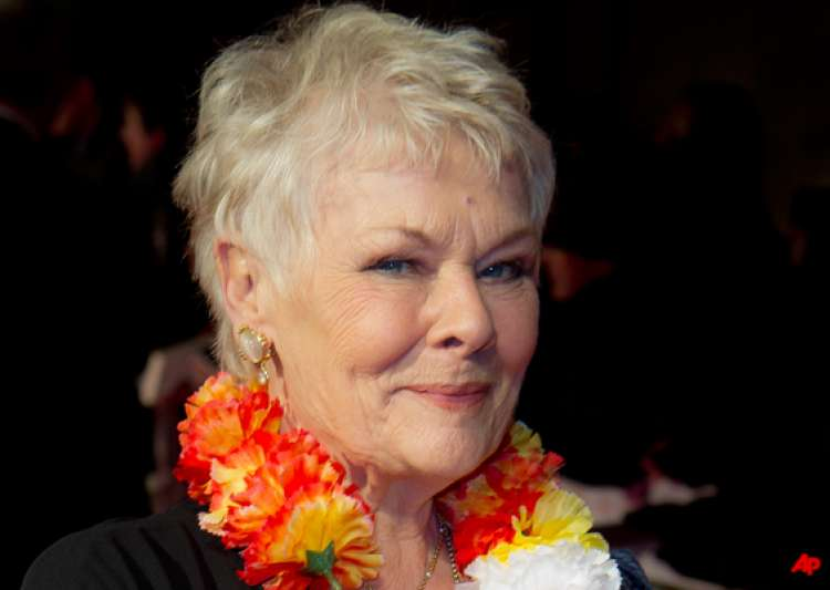 dame judi dench bewitched by india- India Tv