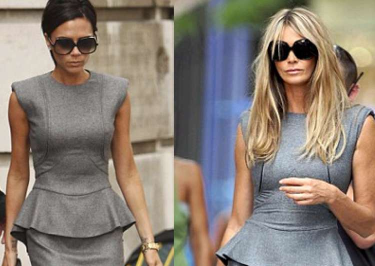 elle macpherson shows off in a victoria beckham dress- India Tv