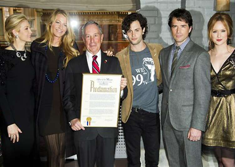 mayor bloomberg proclaims jan 26 as gossip girl day in new- India Tv