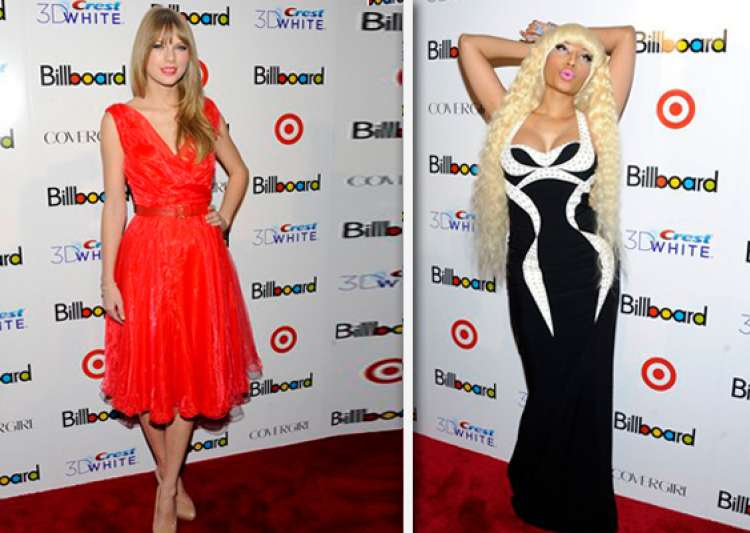 swift minaj get billboard honor talk grammy nods- India Tv