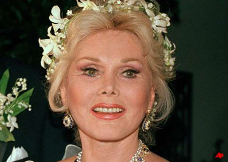 zsa zsa kept behind closed doors at birthday party- India Tv