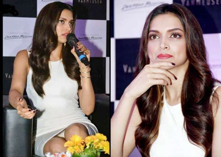 oops deepika flashes undies suffers wardrobe malfunction at- India Tv