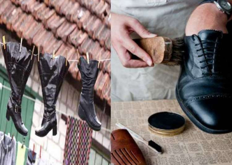 tips to take care of leather shoes in monsoon indiatv news