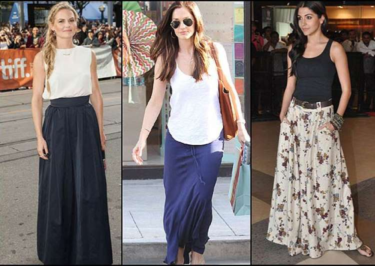 Summer trend 2014: Try maxi skirts (see pics)