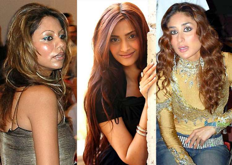 bollywood babes with worst hair colour see pics  india tv