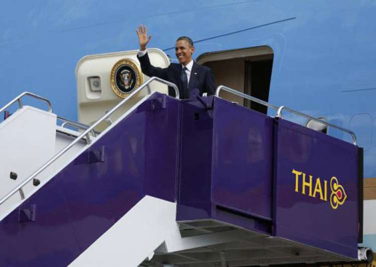 asia tour obama first pays visit to thailand- India Tv